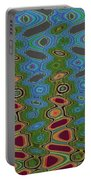 Pacific Ocean From Oregon Abstract Portable Battery Charger