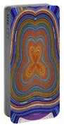 Pacific Ocean Oregon View Abstract # 8085wwpct Portable Battery Charger