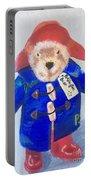 Paddington Bear Portable Battery Charger