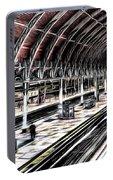 Paddington Station London Sketch Portable Battery Charger