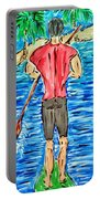 Paddle In Paradise Portable Battery Charger