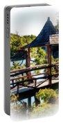 Pagoda Over The Lake Portable Battery Charger
