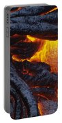 Pahoehoe Lava Texture Portable Battery Charger