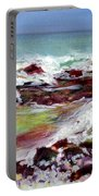 Pahoehoe Winter Surf Portable Battery Charger