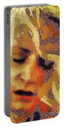 Pain By Mary Bassett Portable Battery Charger