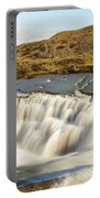 Paine River Waterfall Portable Battery Charger