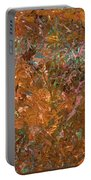 Paint Number 19 Portable Battery Charger by James W Johnson