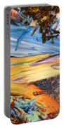 Paint Number 38 Portable Battery Charger by James W Johnson