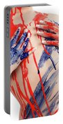 Paint On Woman Body Portable Battery Charger
