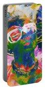 Paint Splash Pinup Art Portable Battery Charger