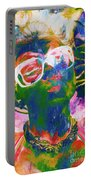 Paint Splash Pinup Art Portable Battery Charger