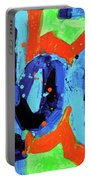 Paint What You Feel Not What You See Portable Battery Charger