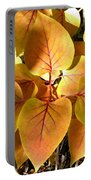 Painted Autumn Lilac Portable Battery Charger
