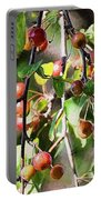 Painted Berries Portable Battery Charger