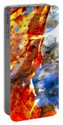 Painted Branches Abstract 1 Portable Battery Charger