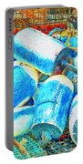 Painted Buoys Portable Battery Charger