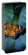 Painted Butterfly Portable Battery Charger