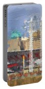 Painted Cincinnati Ohio Portable Battery Charger