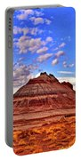 Painted Desert Colorful Mounds 003 Portable Battery Charger