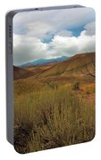 Painted Hills Landscape In Central Oregon Portable Battery Charger
