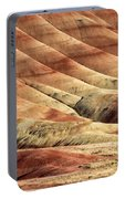 Painted Hills Textures Portable Battery Charger