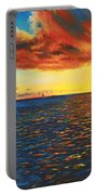 Painted Horizon Portable Battery Charger