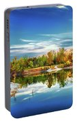 Painted Klondike Autumn Portable Battery Charger