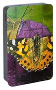 Painted Lady Butterflies Portable Battery Charger
