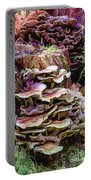 Painted Mushrooms Portable Battery Charger