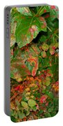 Painted Plants Portable Battery Charger