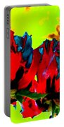 Painted Poppies Portable Battery Charger