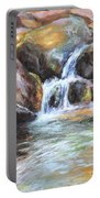 Painted Rocks Portable Battery Charger
