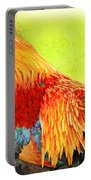 Painted Rooster Portable Battery Charger