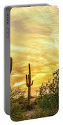 Painted Sky Portable Battery Charger