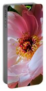 Painted Velvet Petals Portable Battery Charger