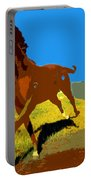 Painted War Horses Portable Battery Charger
