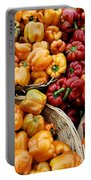 Painterly Peppers Portable Battery Charger