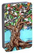 Painters Palette Of Tree Colors Portable Battery Charger