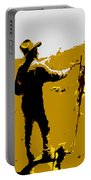 Painting Cowboy Portable Battery Charger