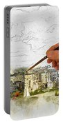 Painting Seattle Portable Battery Charger