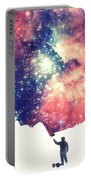 Painting The Universe Awsome Space Art Design Portable Battery Charger