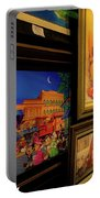 Paintings Collage Portable Battery Charger