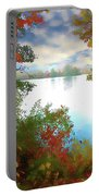Paints Of Fall Portable Battery Charger