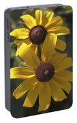 Pair Of Black-eyed Susans Portable Battery Charger