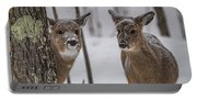 Pair Of Deer Portable Battery Charger