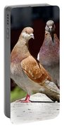 Pair Of Pigeons Portable Battery Charger