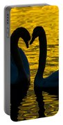 Pair Of Swans Portable Battery Charger