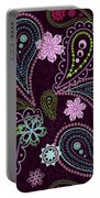 Paisley Abstract Design Portable Battery Charger