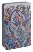 Paisley Fan Portable Battery Charger
