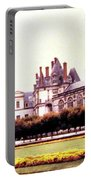 Palace Of Fontainebleau 1955 Portable Battery Charger